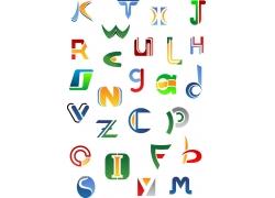 时尚字母LOGO设计