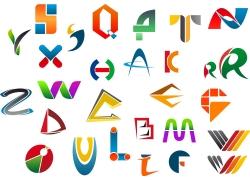 时尚英文字母LOGO