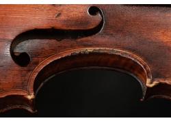 提琴局部特写
