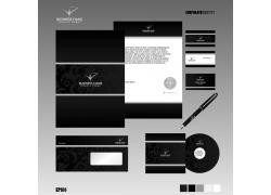 黑色简洁viu模板