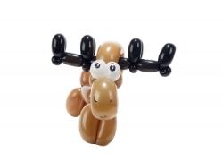 可爱的气球鹿
