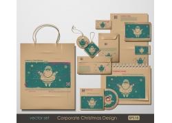 VI圣诞节设计背景
