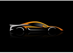 跑车logo设计