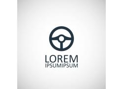 方向盘logo设计