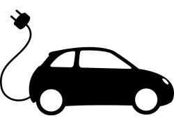 充电汽车logo设计