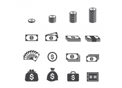 金融图标素材