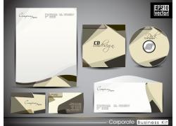 创意cd包装名片信封模板