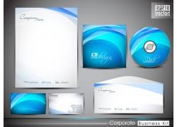蓝色梦幻VI设计