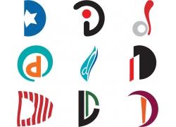 D字母标志