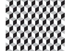 立体方块背景