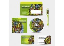 信封名片cd包装设计