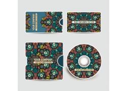 创意cd包装与名片设计