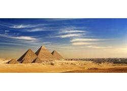 美丽金字塔风景