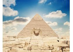 金字塔与狮身人面像