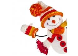 可爱的雪人洋娃娃