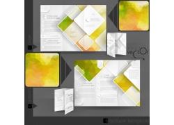 梦幻颜色折页设计图片
