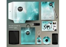 蓝色梦幻VI模板