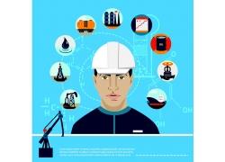 炼油工人图片