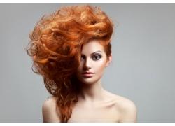 美发造型模特美女