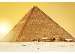金色金字塔摄影