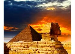 埃及狮身人面像金字塔摄影