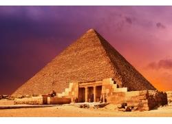 金字塔摄影图