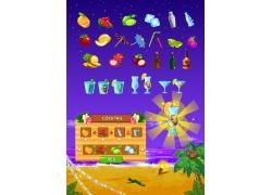 大海沙滩游戏图标图片