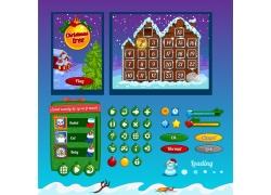 圣诞节元素游戏图标图片