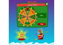 游戏抽奖元素图标图片