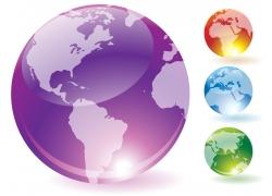 透明水晶地球