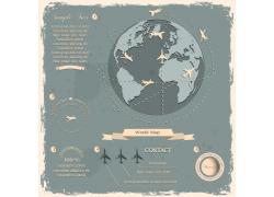 世界地球信息图表图片