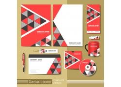 企业vi三角形素材