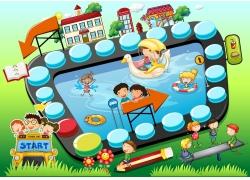 儿童游戏设计图片