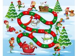 儿童圣诞节游戏设计图片