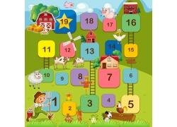 儿童农场游戏设计图片