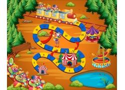 创意儿童游戏界面图片