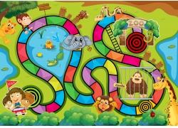 儿童游戏动物园元素图片