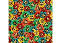 美丽花朵背景图案