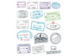 邮戳印章图片