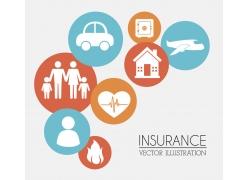 保险主题图标素材