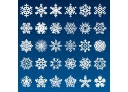 矢量雪花图标