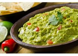 绿色西餐美食