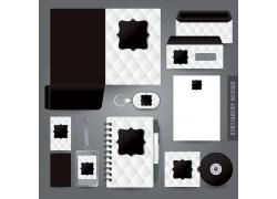黑白简约企业VI模板