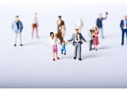 3D小人家庭