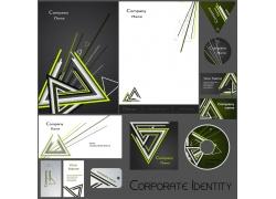 时尚三角形VI企业