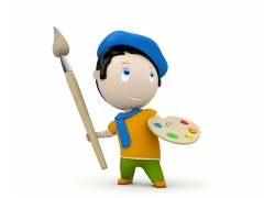 3D小人画家