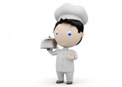 3D卡通厨师