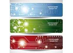 电子科技横幅设计