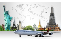 世界著名建筑和飞机