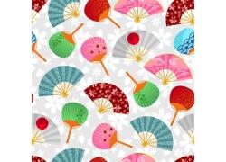 日本扇子图案